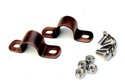 Universal Rear Fender Mounting Brackets, Ant Copper Finish