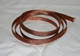 "Braided Copper Hose & Wire Sheathing 5ft, Expands up to 1/2"" ID"